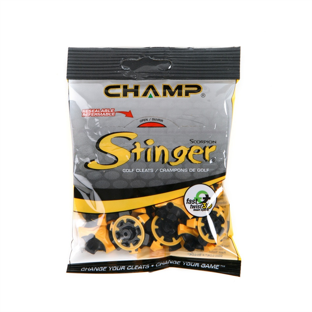 ​​Champ Scorpion Stinger Fast Twist 3.0   Resealable Bags