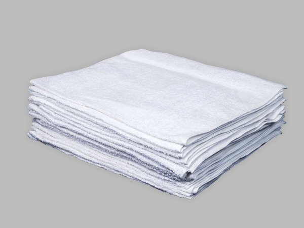 ​​16X27 10/ S Cart Towel - Doz White