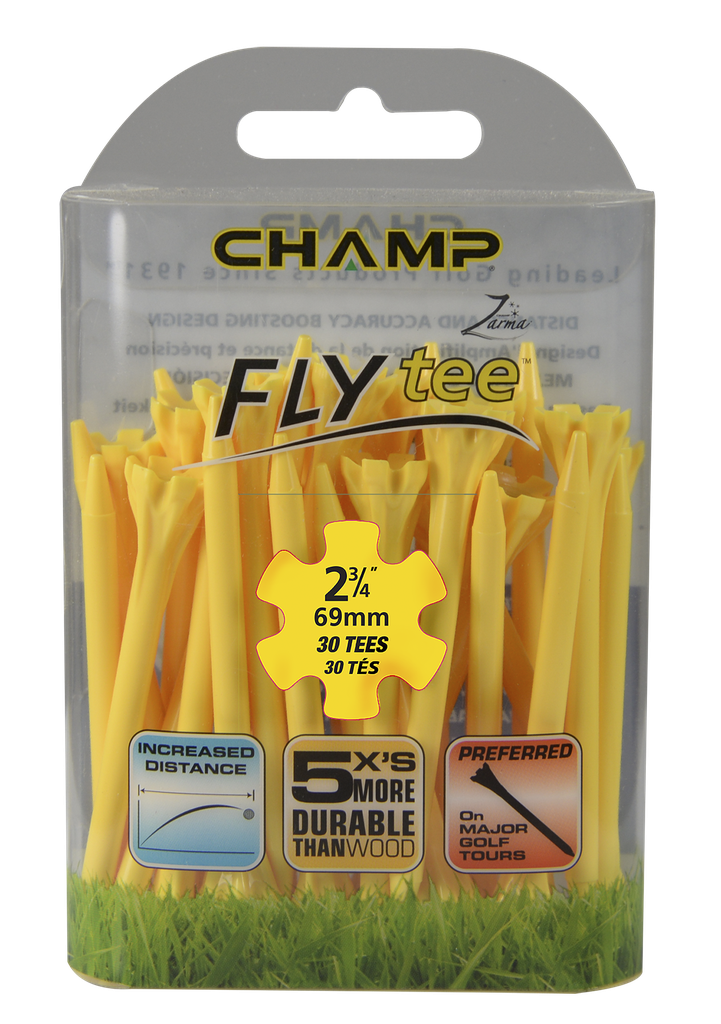 ​​Pack Of 30 - 2 3/4 Yellow Flytee