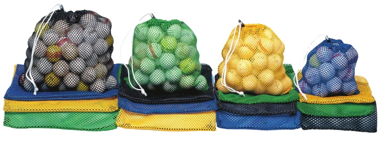 ​​Polyester Mesh Range Ball Bag  - 35-40 Balls